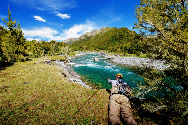 Owen River Lodge, South Island, New Zealand_Fishing_Owen_River_November_2015_Rene_Vaz