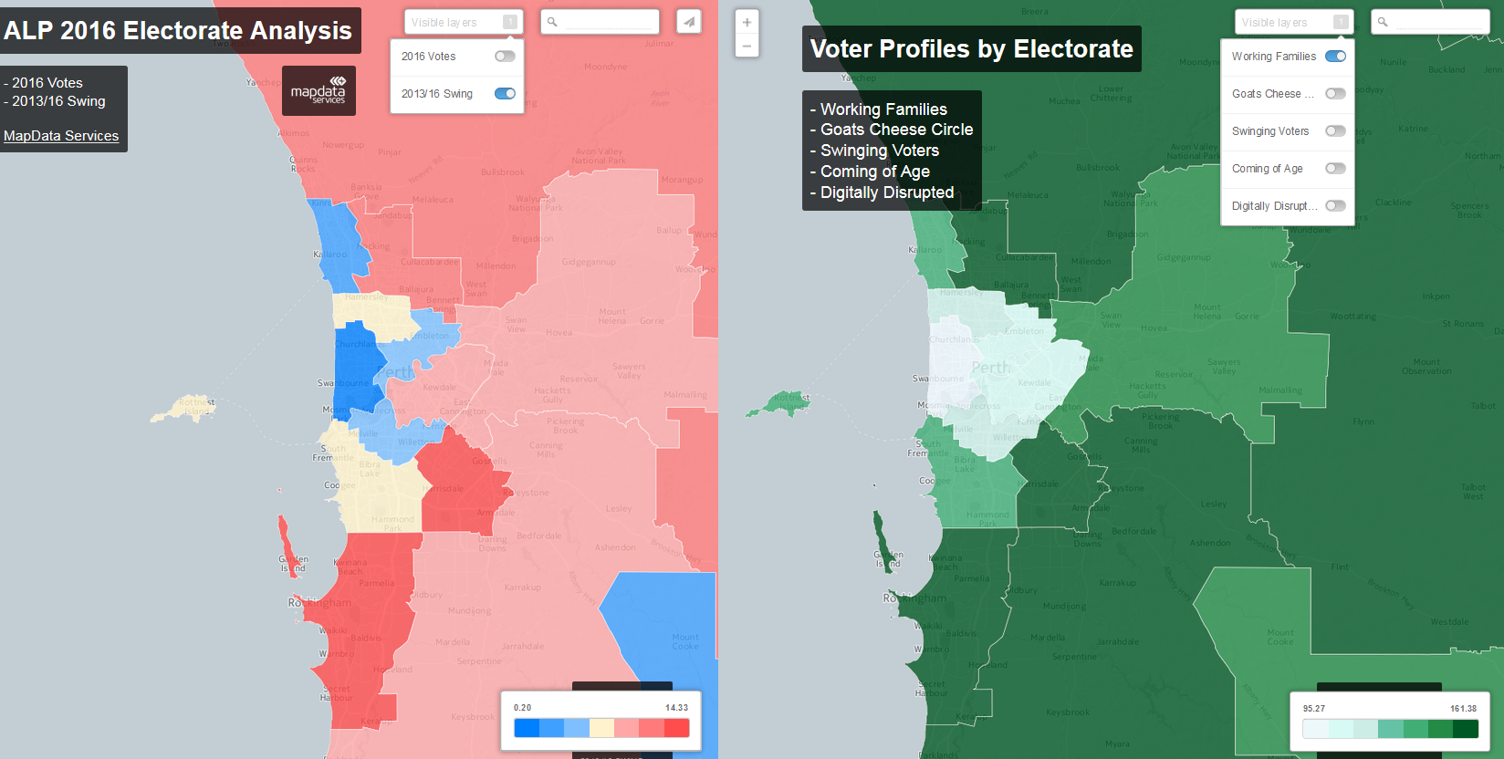 ALP 2016 Electorate Analysis and Voter Profiles by Electorate