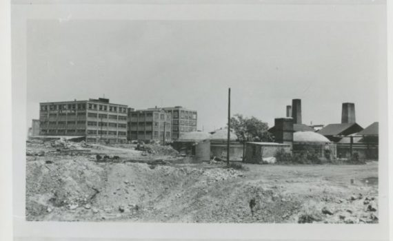 Calvert and Rogers, West Brothers Brick kilns in what's now Crystal City (Photo via the Center for Local History)