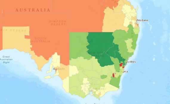 Covid Vax Map Update - Health Geographics Dr Jeanine McMullan has mapped, the distribution of those Australian 15 years and above.
